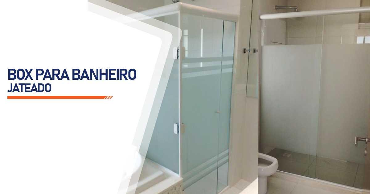 Box Jateado para Banheiro Bauru