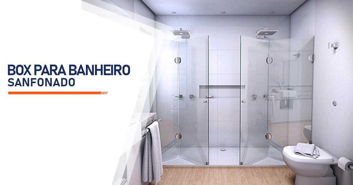Box para Banheiro Sanfonado Bauru