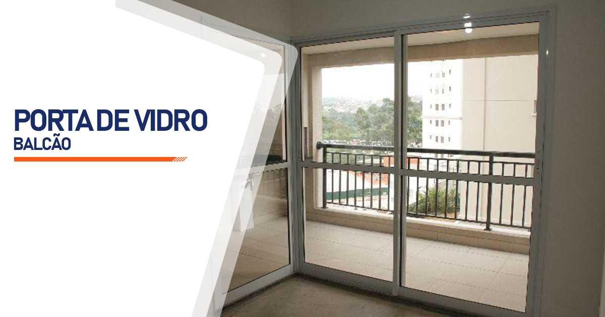 Porta Balcão De Vidro Bauru