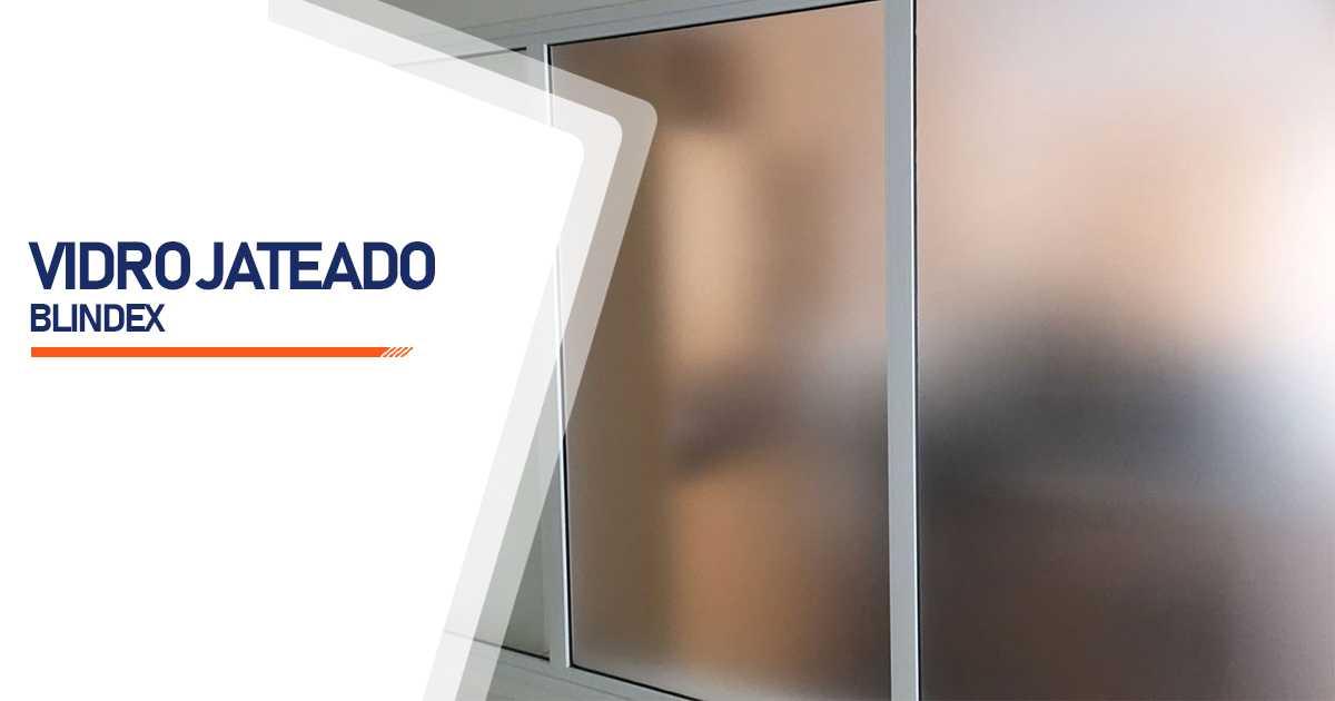 Vidro Blindex Jateado Bauru